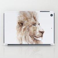 Wise lion iPad Case