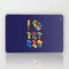 I Heart Tetris Laptop & iPad Skin