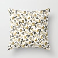 Herbal Apothecary Throw Pillow