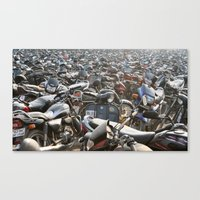 Parking Problems ? Canvas Print