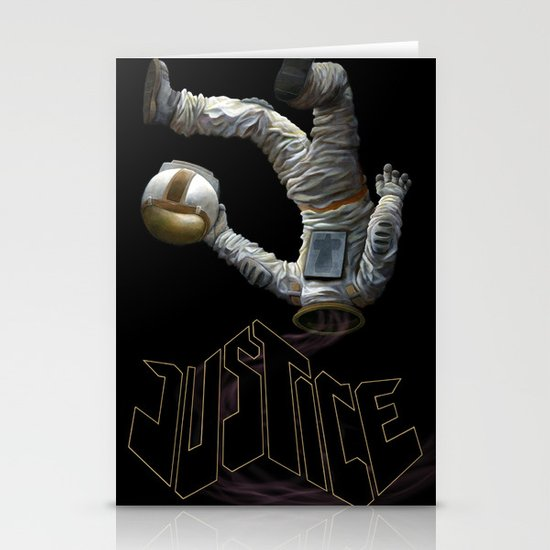Justice-Planisphere Stationery Card