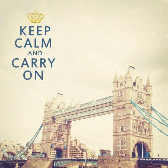 Keep Calm London Art Print