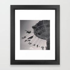 Sideshow Alley Framed Art Print