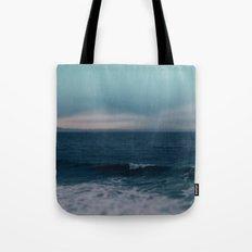 Blue California Ocean Tote Bag