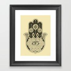 Hamsa Framed Art Print