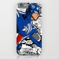 Captain 'merica Comic iPhone 6 Slim Case