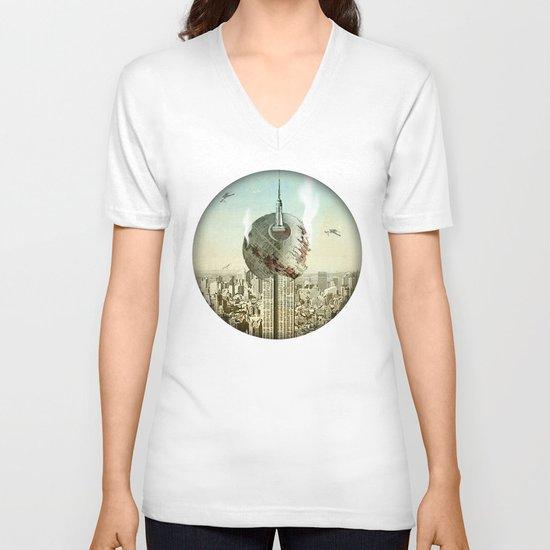 impaled on the empire V-neck T-shirt