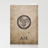Avatar Last Airbender - Air Stationery Cards