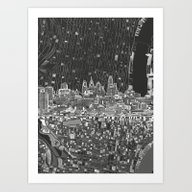 Philadelphia City Skylin… Art Print