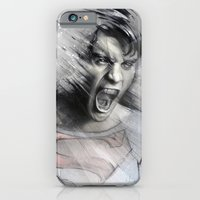 iPhone Cases featuring Superheroes SF by Alexis Marcou