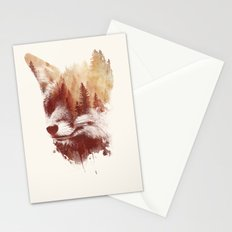 Blind fox Stationery Cards