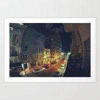 Florentine Tel Aviv פלורנטין תל אביב  Art Print