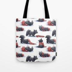 Wolf & Hoodie Tote Bag