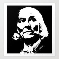 William Hartnell- 1st Doctor (Doctor Who) Art Print