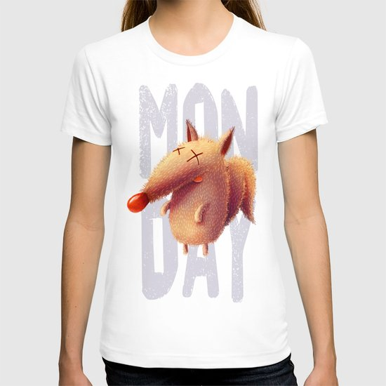 Monday fox T-shirt