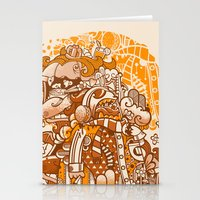 Ginger Monsterous Stationery Cards