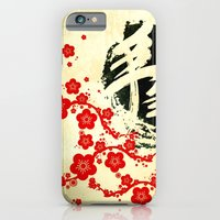 China Flowers - for iphone iPhone 6 Slim Case