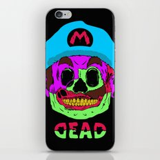 Dead Mario iPhone & iPod Skin