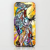 iPhone & iPod Case featuring The Beautiful Bird Is The One Who Gets Caged by Time To Fight Studio