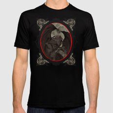 Mothman's Teatime Mens Fitted Tee Black SMALL