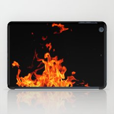 Fire Element Flames Bold Orange Red Yellow Brilliant Color Modern Art Photography iPad Case