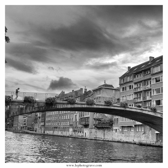 Le Pont Art Print