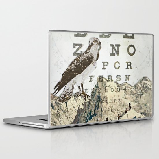 eye chart II Laptop & iPad Skin
