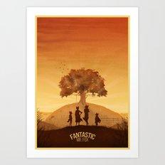 Fantastic Mr. Fox Art Print