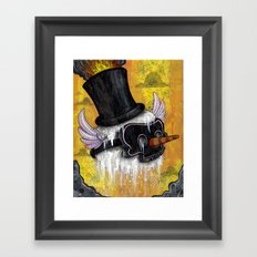 Frosty's Lament Print~! Framed Art Print