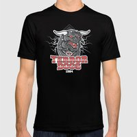 NY Terror Dogs Mens Fitted Tee Black SMALL