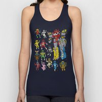 Mighty Melty Power Rangers Unisex Tank Top