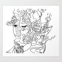 Sending You Love Art Print