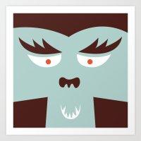 The Monster Club - Monst… Art Print