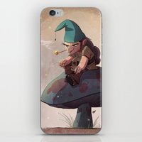 Gnome Away From Home iPhone & iPod Skin