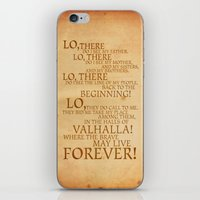 Viking Prayer iPhone & iPod Skin