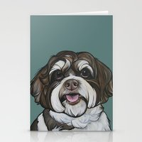Wallace the Havanese Stationery Cards