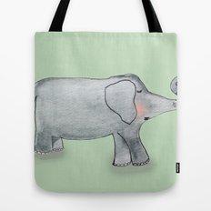 Elefant In Love Tote Bag