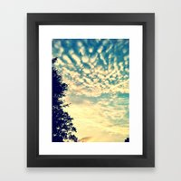 AfternoonSky Framed Art Print