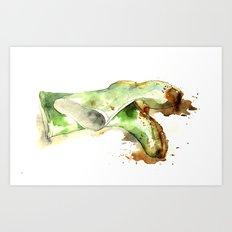 Muddy Garden Wellies - 2011 Art Print