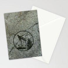 rockclimbing Stationery Cards