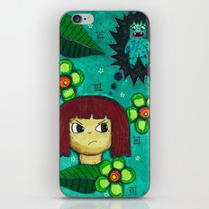 Fighting with your demons iPhone & iPod Skin