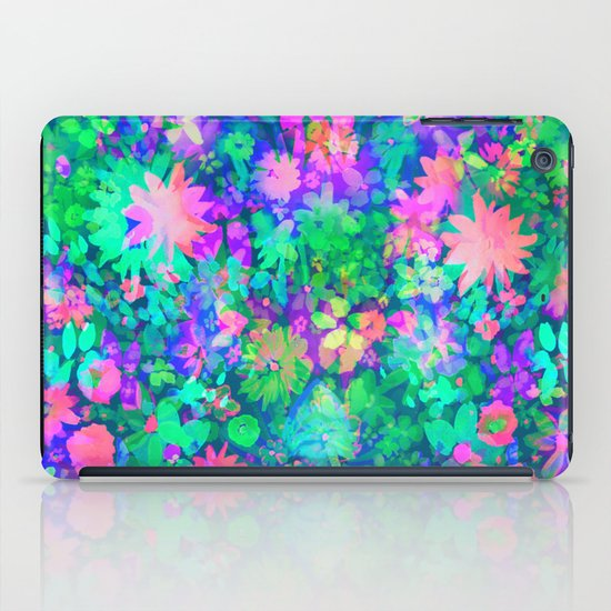 Fluro Floral iPad Case