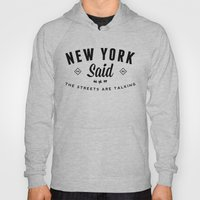 New York Said Hoody