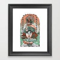 As Predicted Framed Art Print