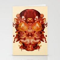 Coffee & Owls & Death Stationery Cards