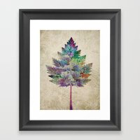 Like A Tree 2. Version Framed Art Print