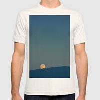 Blue Sky Moon, 2011 Mens Fitted Tee Natural SMALL