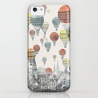 iPhone 5c Cases featuring Voyages over Edinburgh by David Fleck