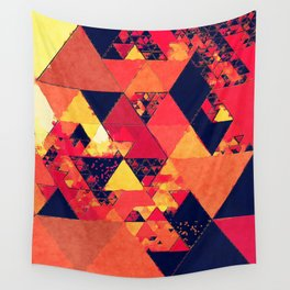 Wall Tapestry - Pure fire- Triangles - Better HOME