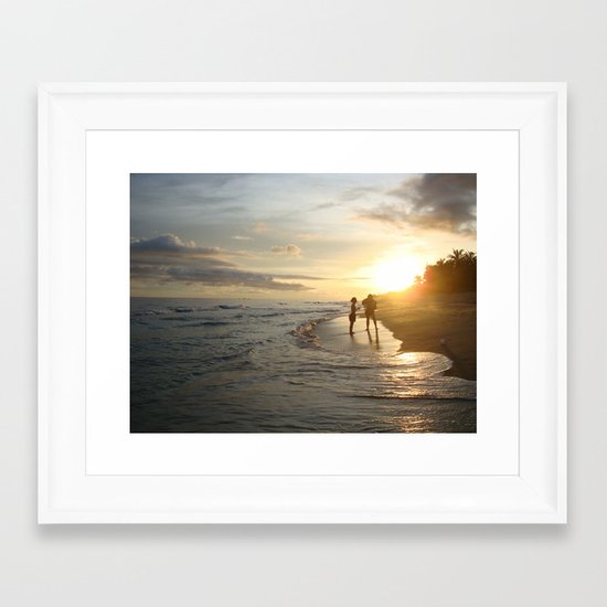 The Moment Framed Art Print